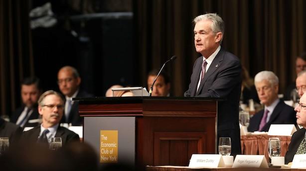 Amerikansk aktiefest efter Fed-overraskelse kan smitte af på danske aktier
