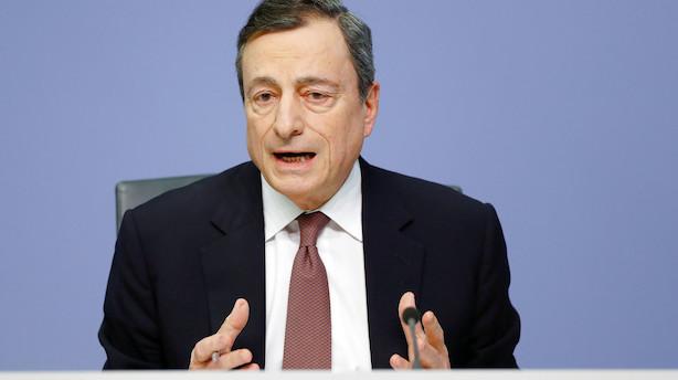 ECB holder renten i ro