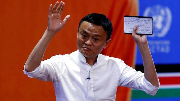 Alibaba overrasker positivt: Ser omsætning på 500 mia. yuan i år