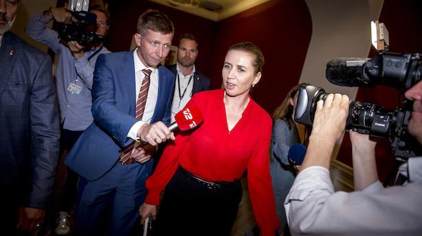 Mette F. inviterer til nyt fællesmøde - kun for partilederne
