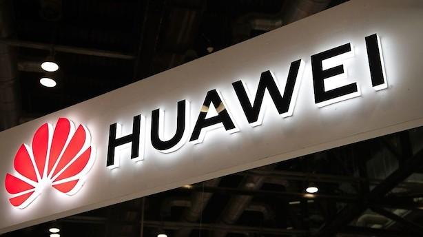 USA udskyder beslutninger om leveringstilladelser til Huawei