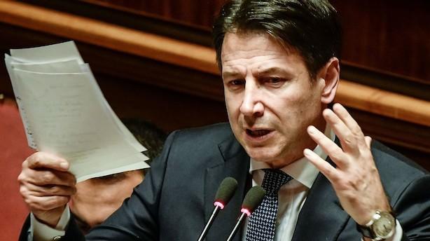 Italien vil sælge aktier for at nedbringe gæld