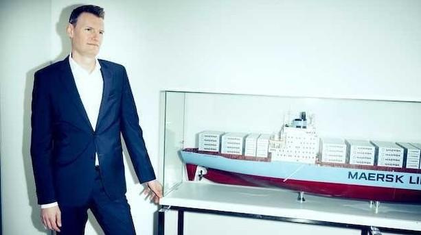 Officielt: Mærsk-kronprins bliver topchef hos stor rival