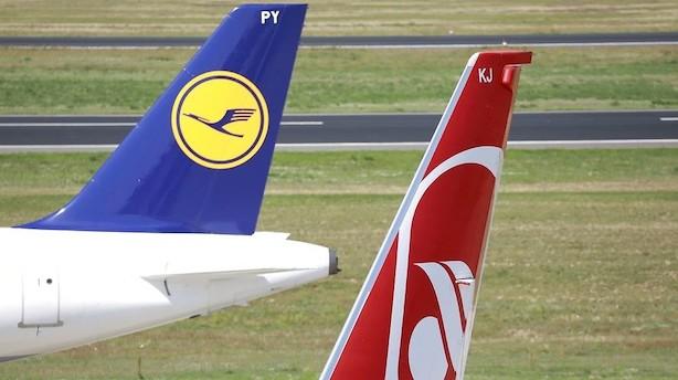 Lufthansa vil købe 81 fly fra konkursramte Air Berlin