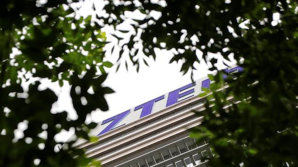 Kinesisk telegigant indgår aftale med USA om fortsat handel