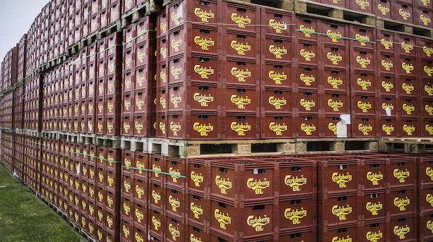 Aktieåbning: Carlsberg med i bunden i faldende marked
