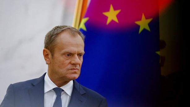 Brexit-aftale skal landes på ekstraordinært topmøde i november