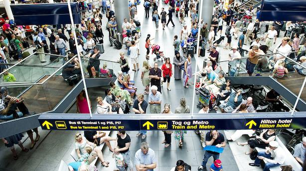 Stadig flere flyver fra Københavns Lufthavne