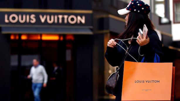 Louis Vuitton Moet Hennessy smider milliarder efter luksuriøs hotelkæde: Aktien springer 40 pct. i negativt aktiemarked i USA