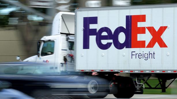 Fedex skuffede - global vækst og handel bremser op