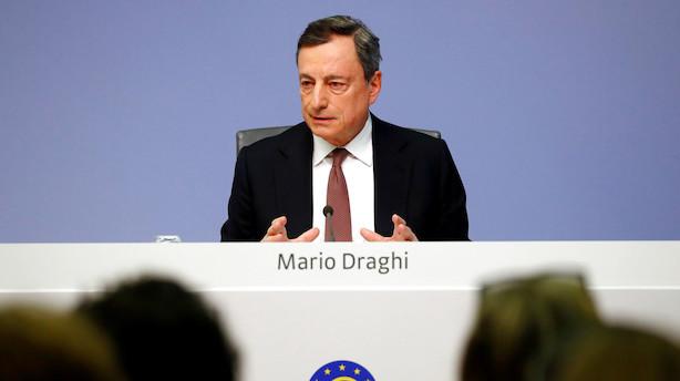 Analyse: Draghi forsøger af al magt at kvæle europæisk recessionsfrygt