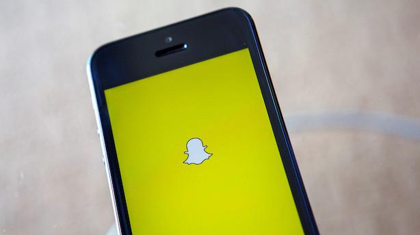 Aktietendens i USA: Selskab bag Snapchat står til stigning i ventet grøn handelsstart