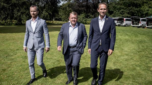 Løkke kalder delt formandskab i Venstre en myte
