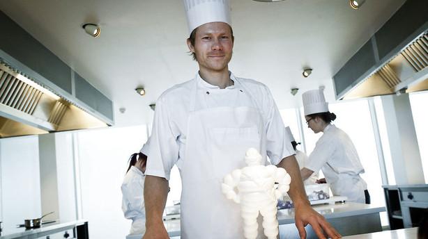 Kokke landet over h�ber p� stjerneregn fra Michelin