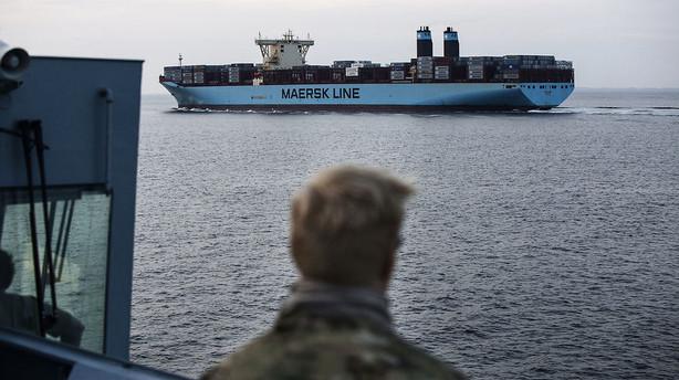Mærsk sikrer sig større kontrakt med det amerikanske militær
