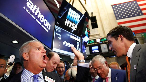 Aktier: Stigninger i sigte i USA på dag med mange nyheder