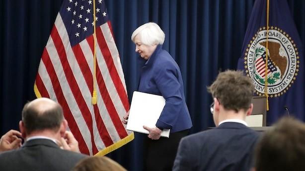 USA: Flad udvikling - investorer venter på nyt fra Fed