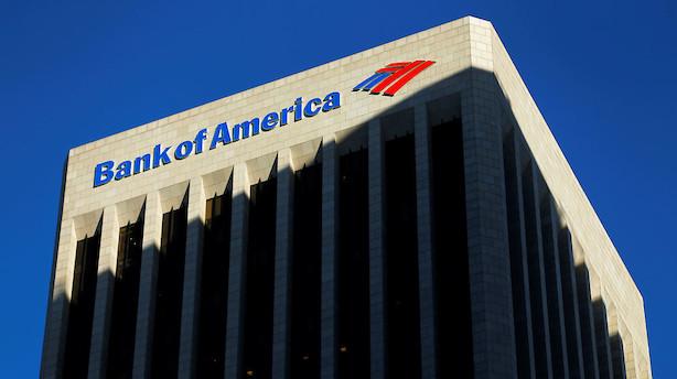 Storbanker falder i ellers positivt amerikansk marked