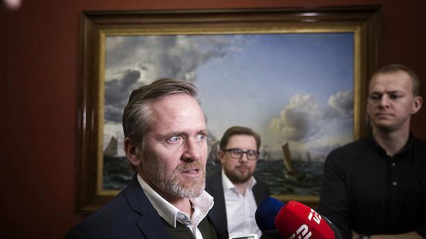 Liberal Alliance indkalder til haste-pressemøde