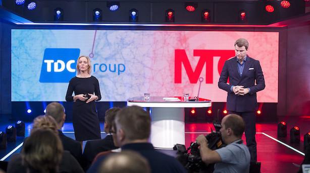 Det skriver medierne: TDC-bejlere vil skrotte storstilet fusion med MTG