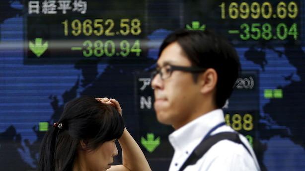 Aktier: Blandede asiatiske tal op til amerikanske inflationsdata og kinesisk nytår
