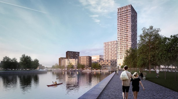 Henning Larsen Architects vinder to europæiske kæmpeprojekter