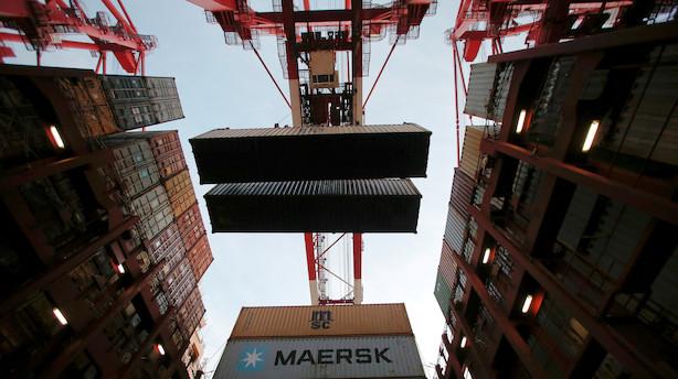 Aktieåbning: Mærsk-aktierne fører an i comeback til C25