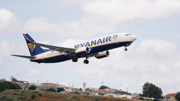 Strejke rammer op mod 100.000 Ryanair-passagerer