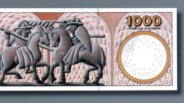 Jyske Bank afskaffer 1000-kroneseddel i kamp mod hvidvask