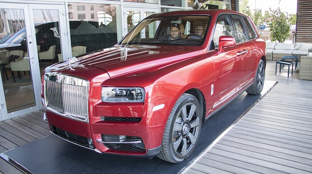 Hils på Rolls-Royce Cullinan - majestæten er ankommet