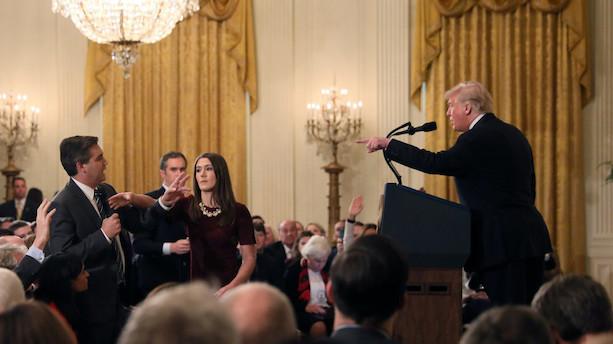 Det Hvide Hus inddrager CNN-journalists akkreditering