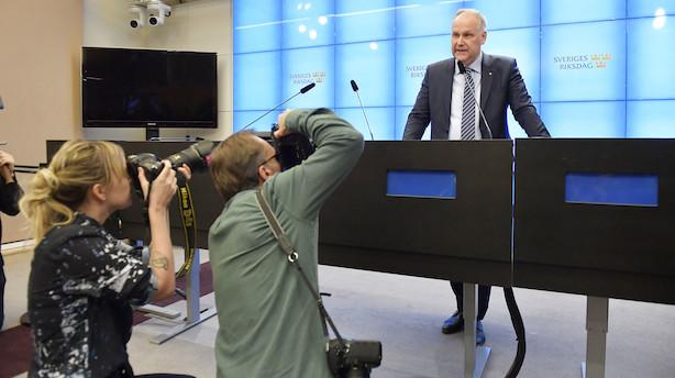 Vänsterpartiet accepterer Löfven som statsminister i Sverige