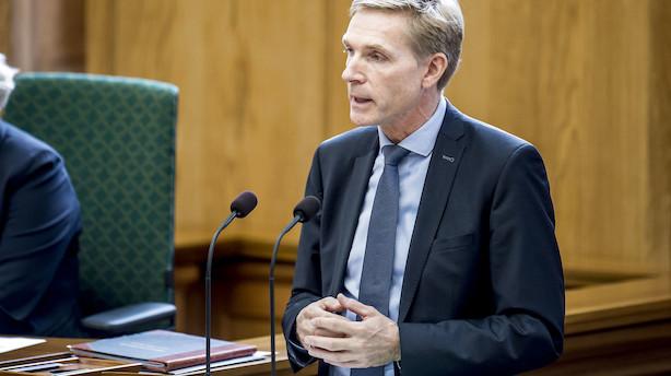 Dansk Folkeparti rammer laveste måling i denne valgperiode