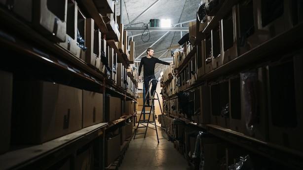 Onlinehandel presser Danmark på moderne logistikfaciliteter