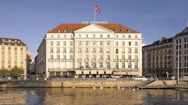 Genèves gamle dame er en femstjernet målestok for byens øvrige hoteller