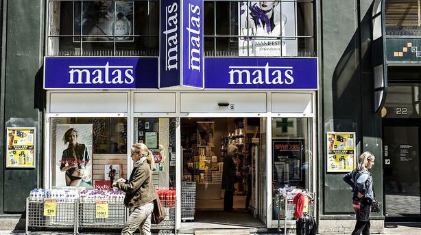 Matas: Julehandlen gik som forventet - salgsvæksten steg