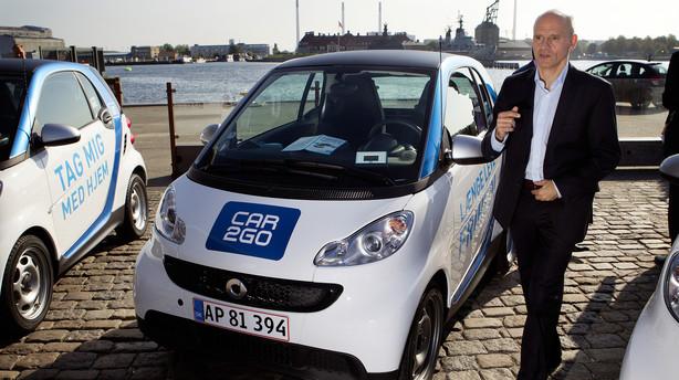 Delebilsgigant drejer nøglen om i København