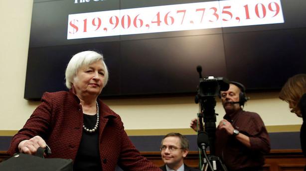 USA: Rekordstimen risikerer at slutte på Wall Street