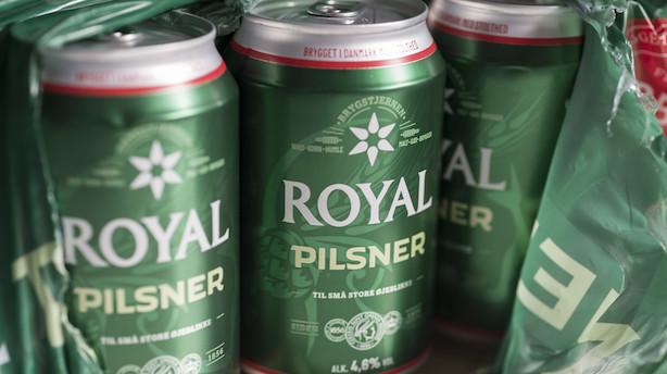 Royal Unibrew køber fransk lemonade-virksomhed og opjusterer forventningerne: Aktien stiger