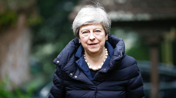 Theresa May vil lade Underhuset stemme om ny folkeafstemning om brexit