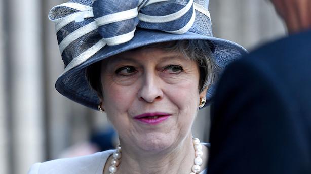 Theresa May går af som konservativ leder - sætter gang i opgør om at erstatte hende