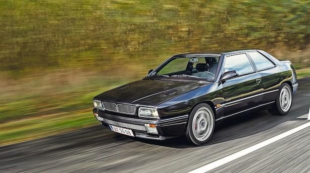 Eksotisk 1990'er-Maserati stiger i pris