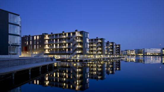Sommerhus i Sydhavnen