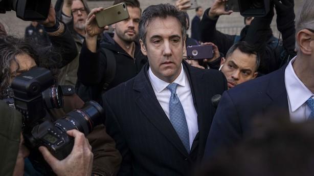 Anklagere vil have lang fængselsstraf til tidligere Trump-advokat