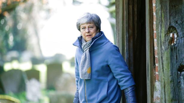 Theresa May: Ikke nok opbakning til at holde tredje afstemning om brexit-aftale