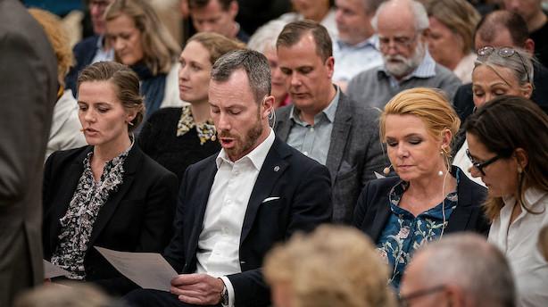 Inger Støjberg og Ellen Trane lover begge bod og bedring til Venstres bagland: Lørdag afgøres det, hvem der bliver ny næstformand