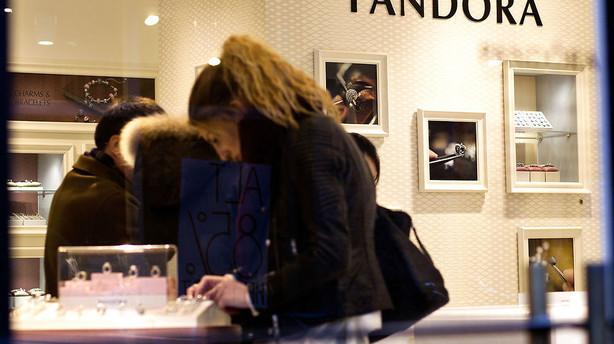Pandora trodser blodrødt marked efter overraskende regnskabsmelding