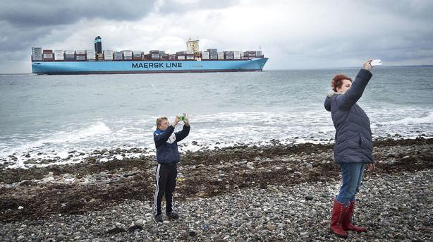 Aktier: Så er der grøn fest i C20 - Mærsk sejler i front