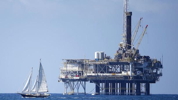 Olieprisen ligger i sit højeste niveau siden 2014