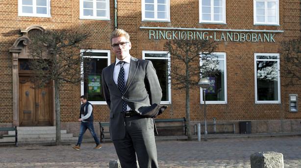 Efter stor bankfusion: Landbobank-boss går på jagt efter rige nordjyder og større erhvervskunder
